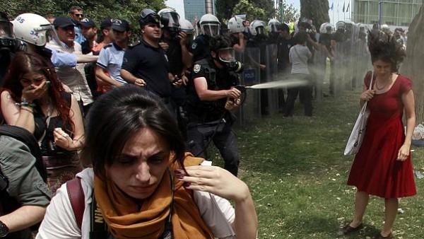 Turkish protest