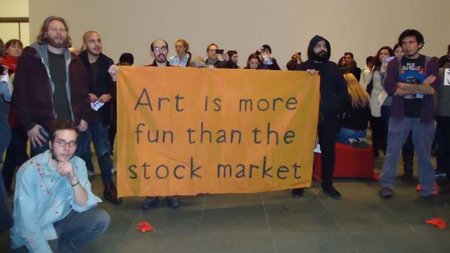 Art is more than the stock market