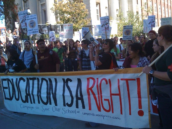 Education is a right 3