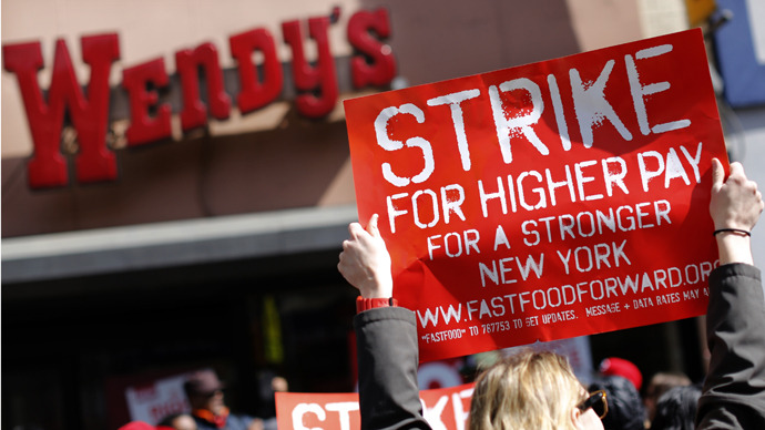 Fast-Food Protest