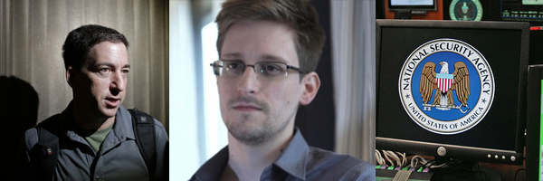 Greenwald and Snowden