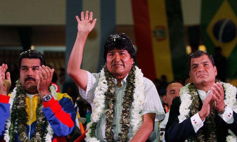 Maduro, Morales and Correa