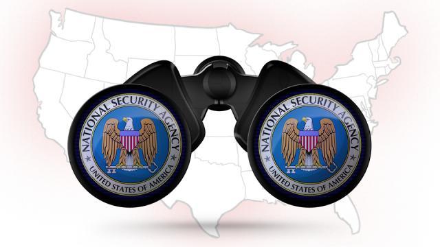 NSA binoculars