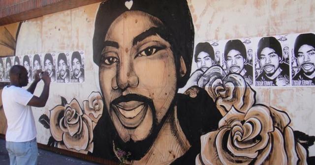 Oscar Grant wall mural