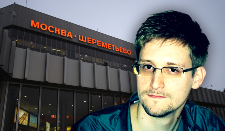 Snowden Moscow Airport