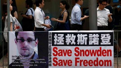 Snowden Save Freedom 2