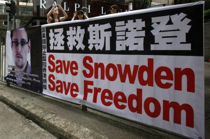 Snowden Save Freedom