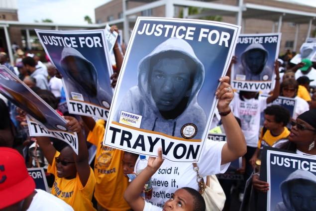 Trayvon protest 2