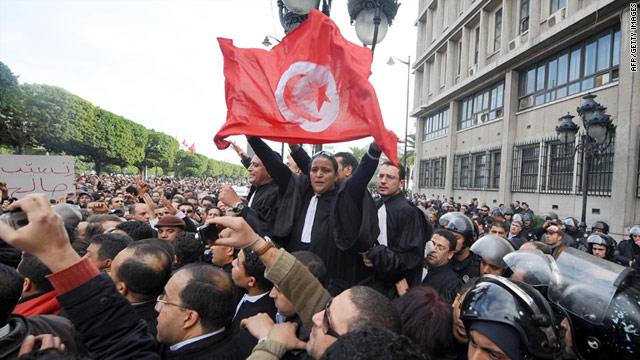 Tunisia protest 2011