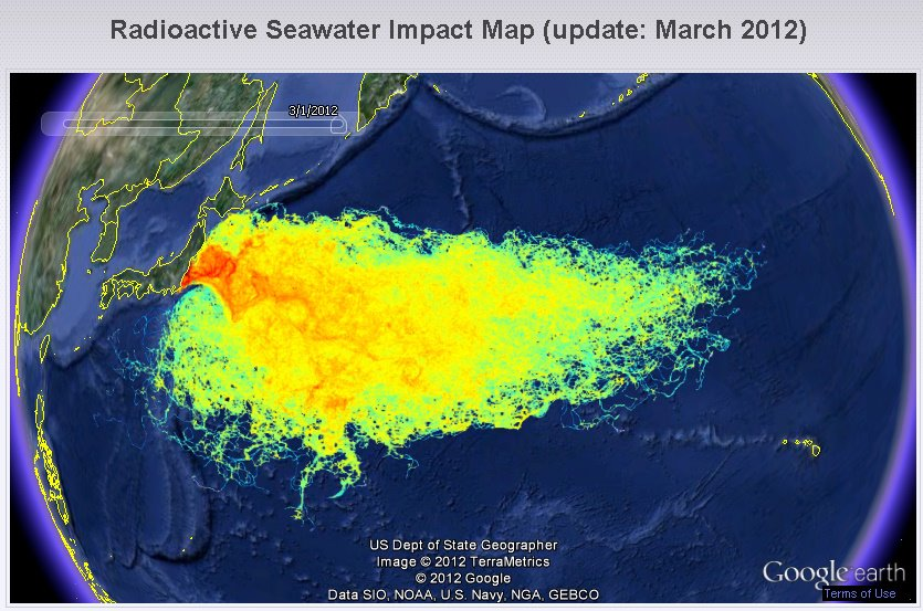 Japan Finally Admits The Truth Emergency At Fukushima - Japan map radiation
