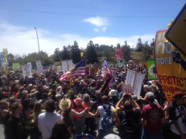 Chevron Protest August 3, 2013