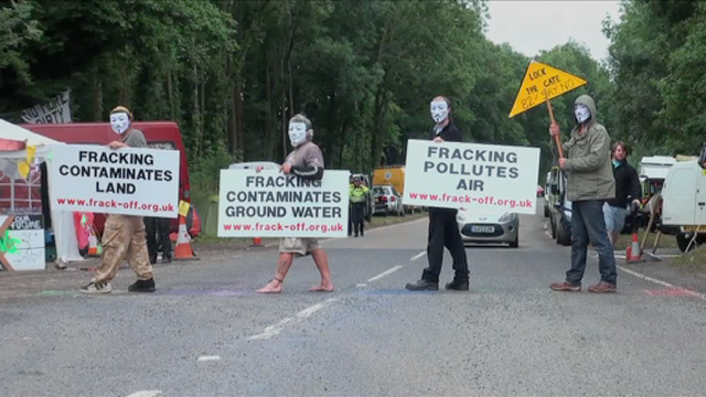 Balcombe Fracking - video