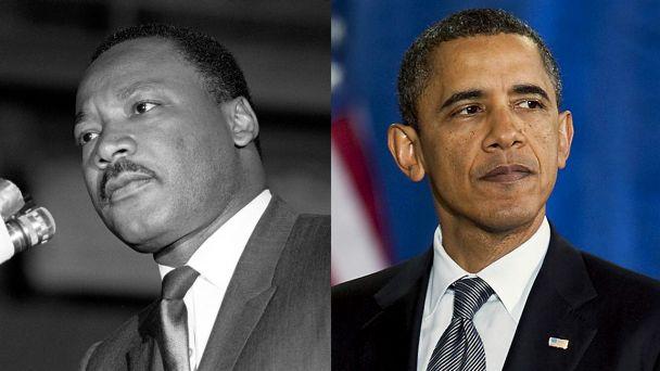 MLK Obama