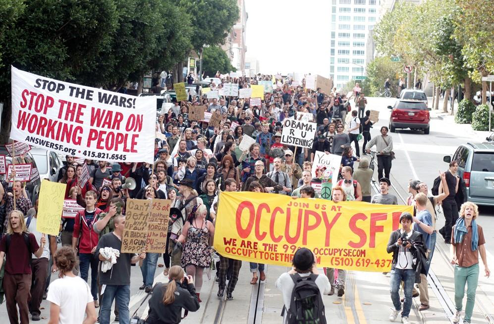 Occupy SF protest