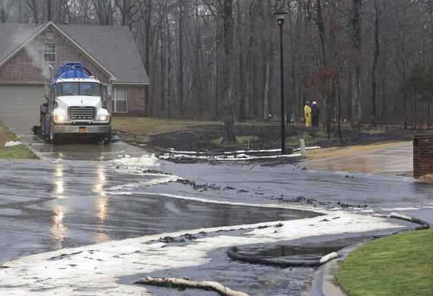 Pegasus pipeline leak neighbord