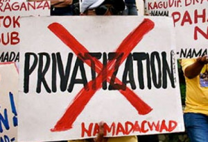 Privatization of water protest