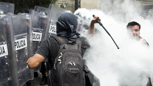 1 mexico riot police