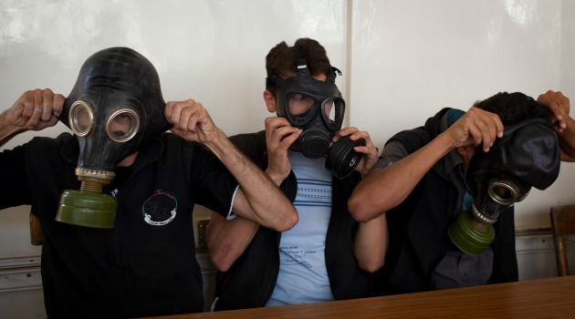 Chemical Weapons masks