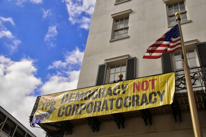 Democracy not corporatocracy 1
