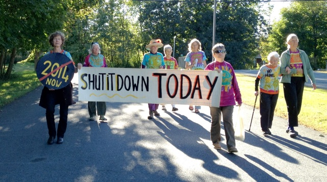 Nuclear Shut It Down Today Vermont Yankee