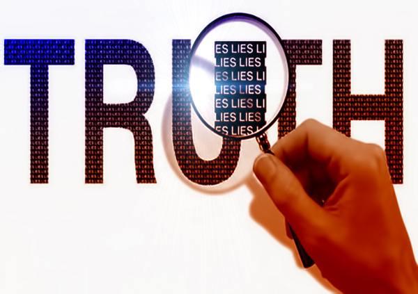 Propaganda Truth made up of lies