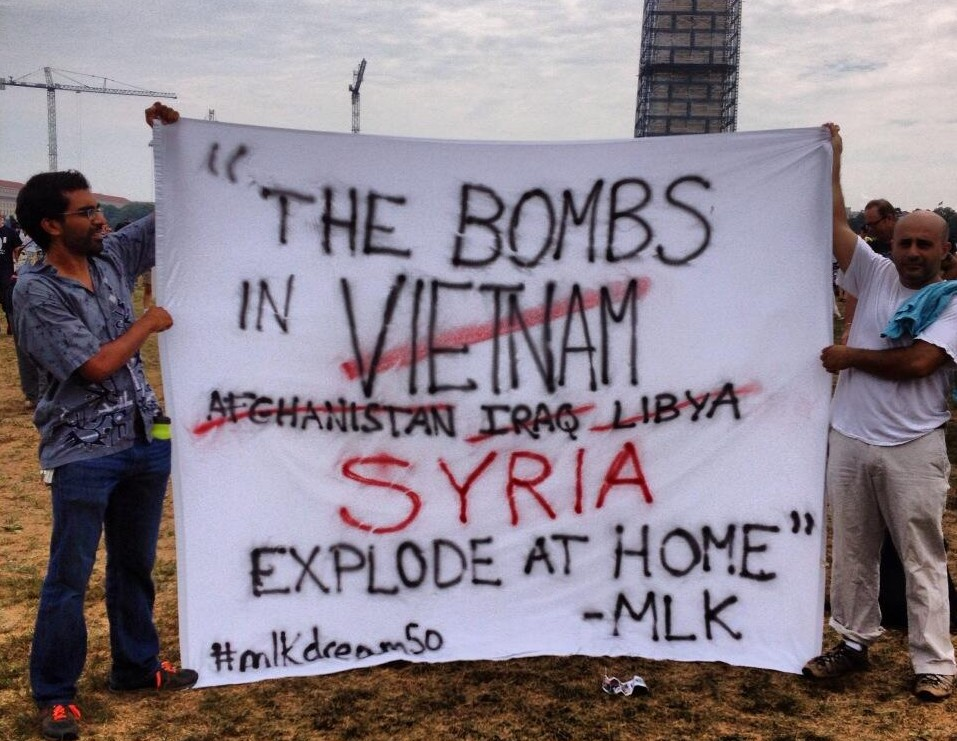 Syria Bombs of Syria will explode at home