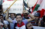 LEBANON-UNREST-US-SYRIA-CONFLICT-DEMO
