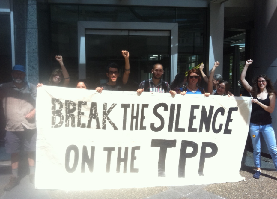 TPP Break the Silence