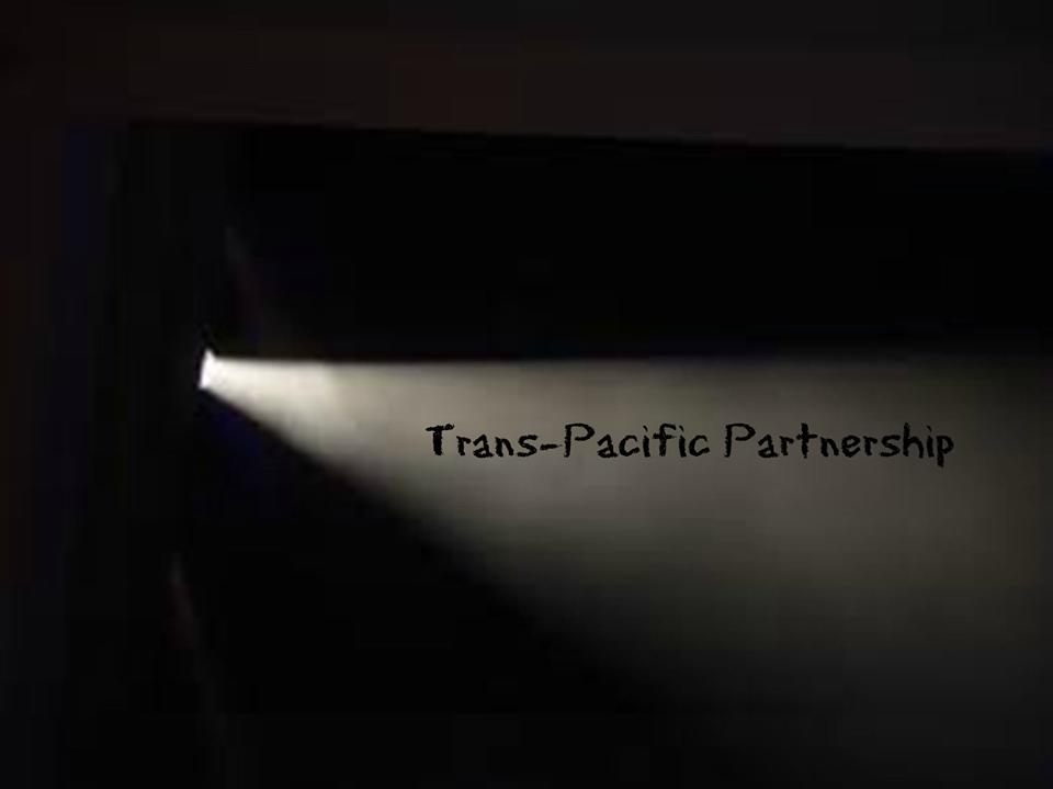 TPP flashlight in dark