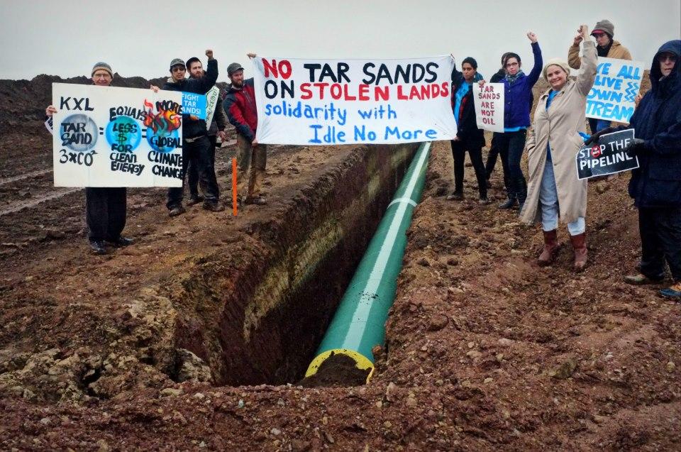 Tar Sands Oklahoma protest 2