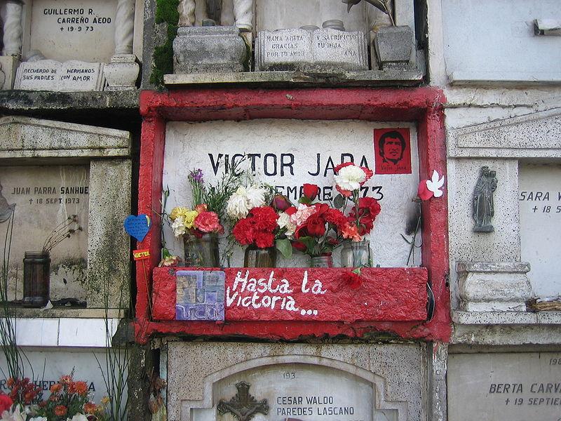 Victor Jara Grave Site Until Victory