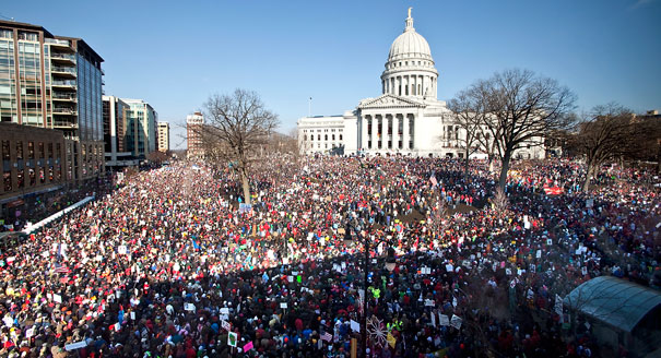 Wisconsin protest 2011