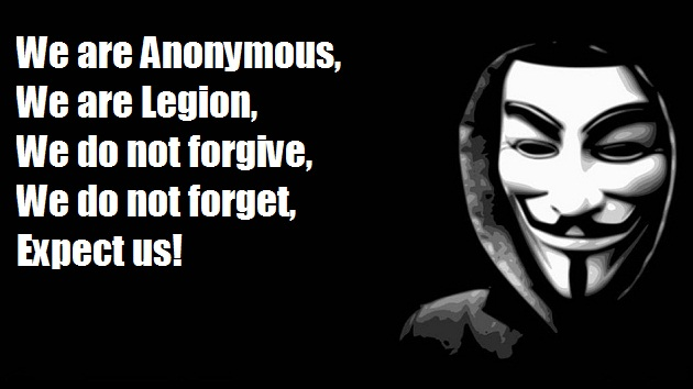 Anonymous We are anonymous, expect us