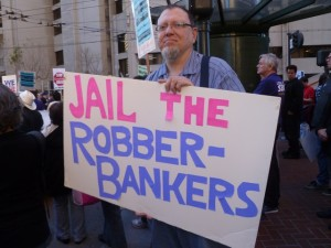 Bankers should go to jail