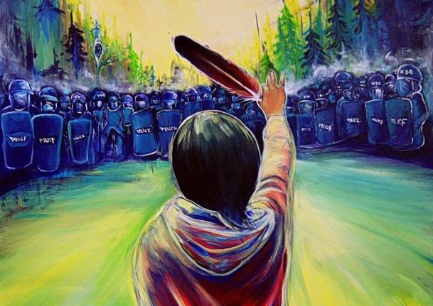 Elsipogtog iconic painting by Fanny Aishaa