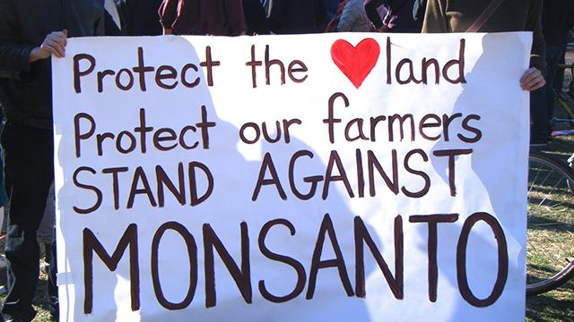 GMO Protect the land and farmers from GMOs