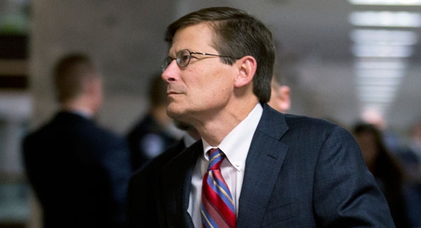 Mike Morell stepped down in August as director of the Central Intelligence Agency, AP Photo