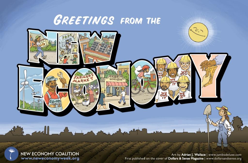 New Economy Postcard
