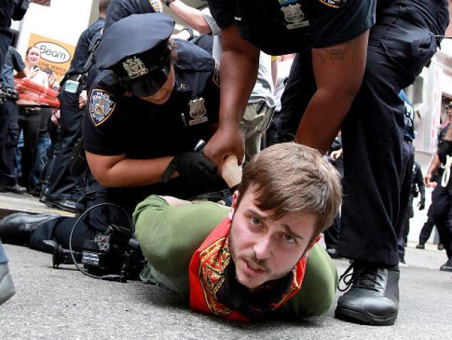 OWS police arrest