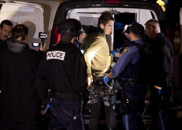 Occupy Portland arrest