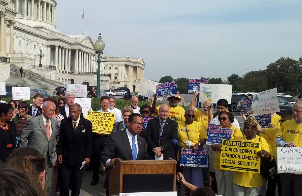 Progressive Caucus Grand Bargain and Shut Down