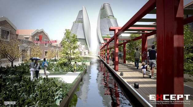 Shanghai sustainable urban masterplan