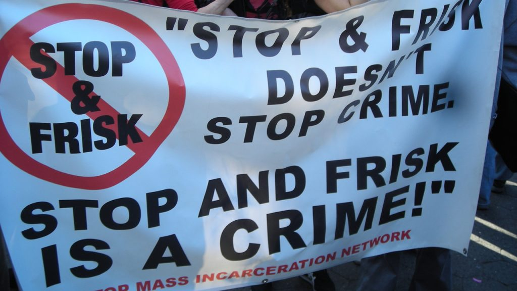 Stop and Frisk is a crime