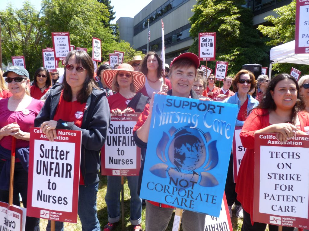 Sutter Nurses Strike