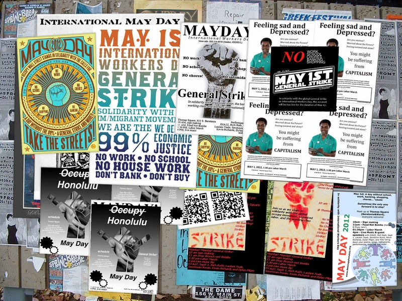 deOccupy Hawaii posters