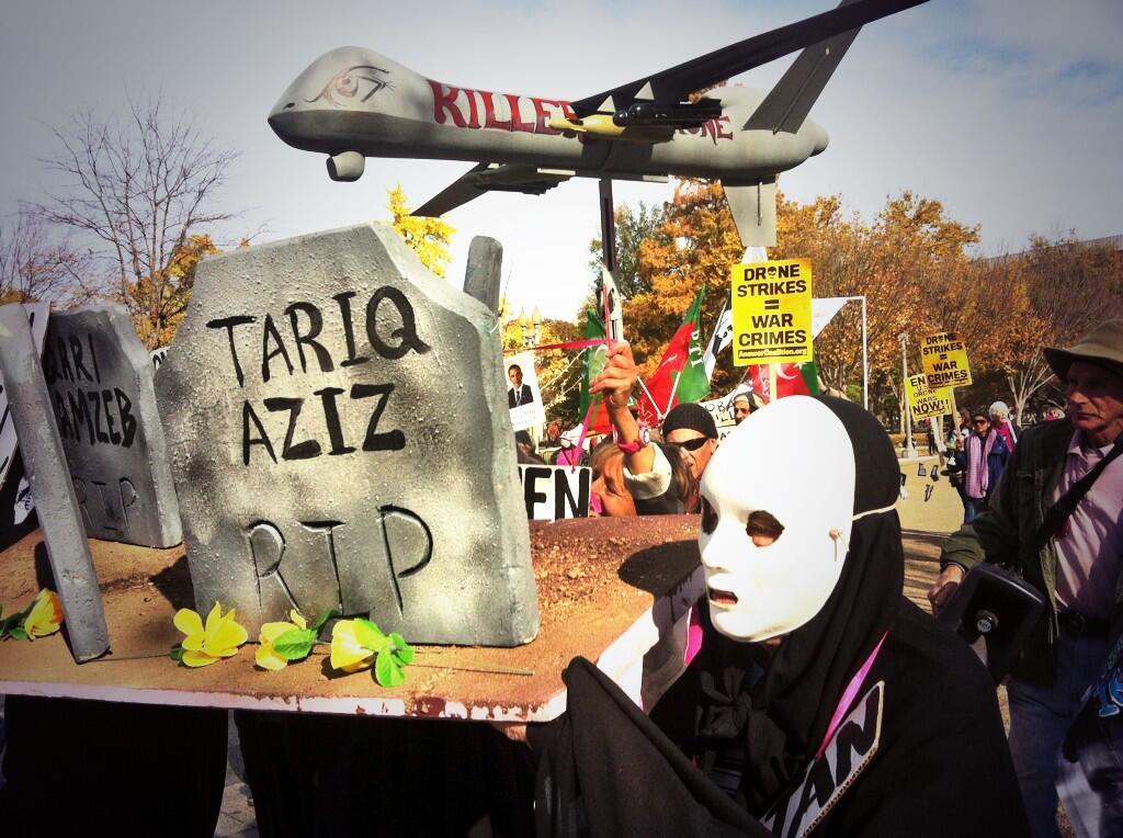Drone protest DC Nov 2013