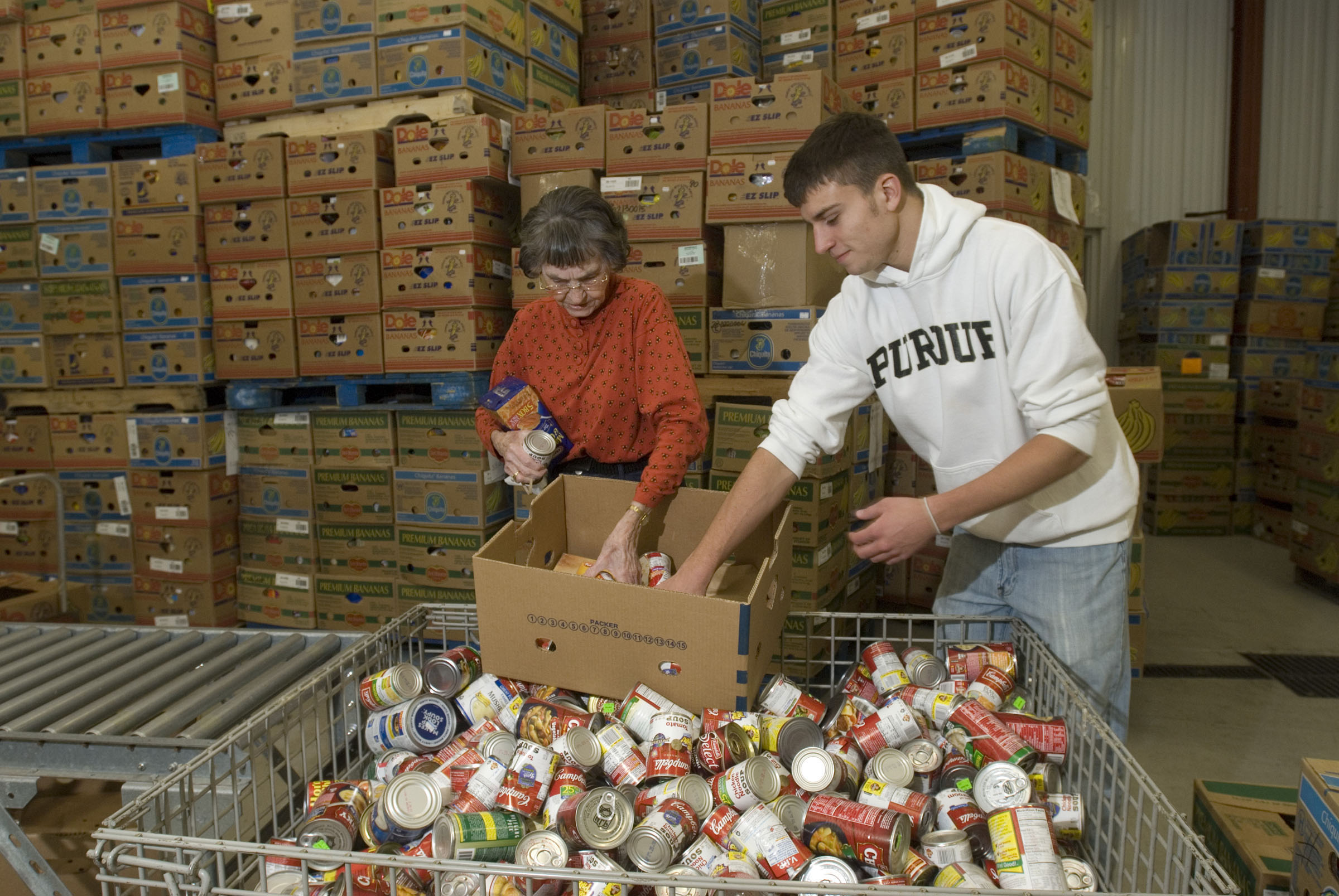 food stamp cuts create high demand for food bank supplies