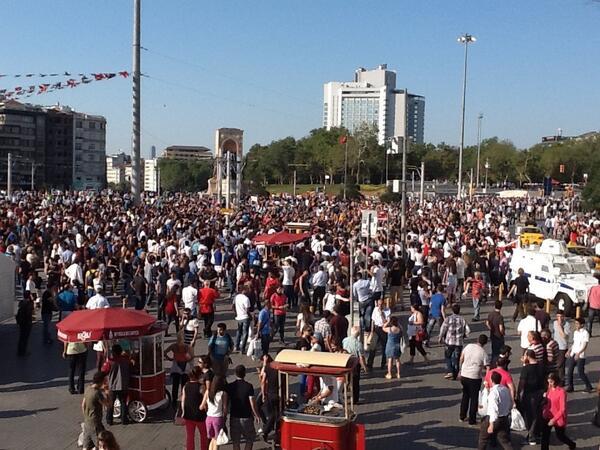 Gezi II protest