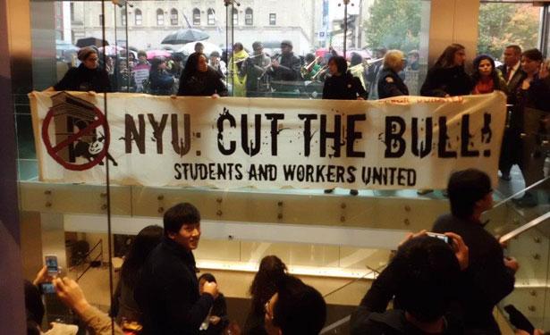 NYU protest