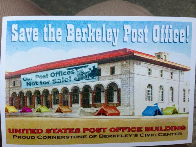 Save the Berkeley Post Office